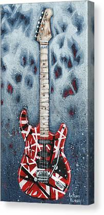 Rock And Roll Van Halen Canvas Prints