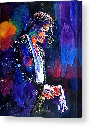 Music King Of Pop Canvas Prints