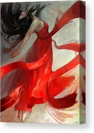 Flowing Canvas Prints