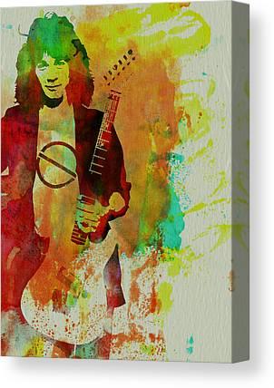 Van Halen Rock Music Canvas Prints