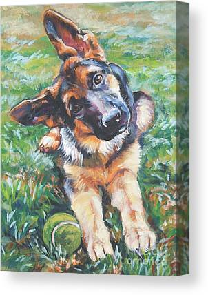 Shepherd Dog Canvas Prints