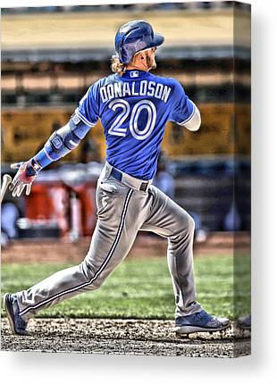 Josh Hamilton Canvas Prints