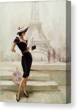 Fashion Illustration Canvas Prints
