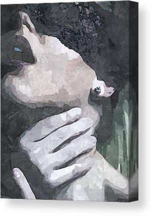 Choking Canvas Prints