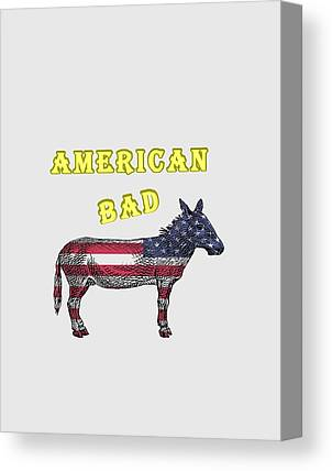 America Canvas Prints