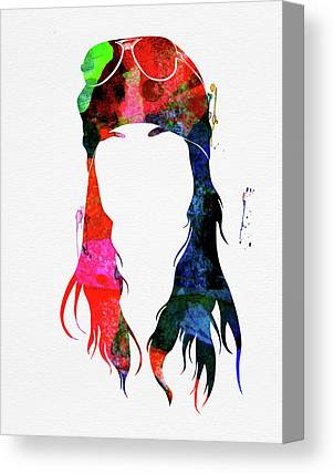 Axl Rose Canvas Prints
