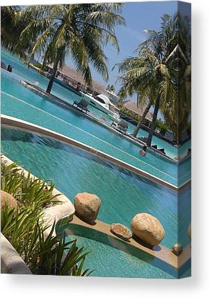 Pool Canvas Prints
