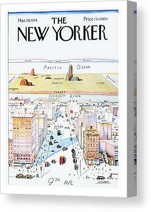 Hudson River Canvas Prints