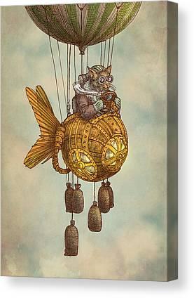 Ballooning Canvas Prints
