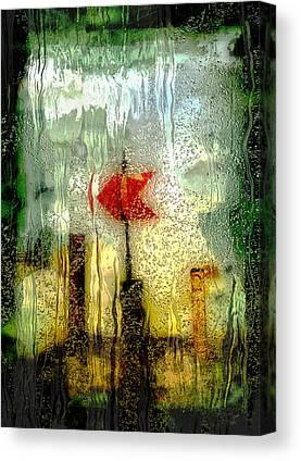 Painted Details Digital Art Canvas Prints