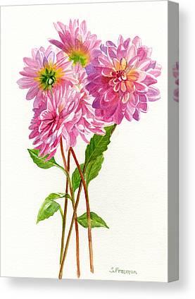 Fushia Canvas Prints