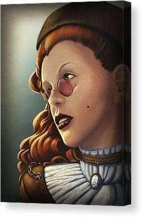 Character Portraits Canvas Prints