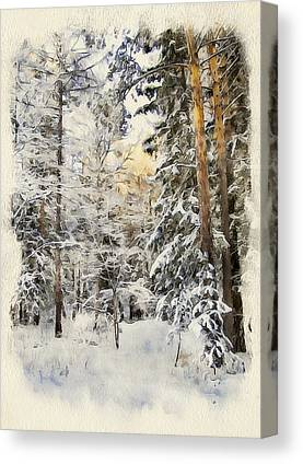 Excellent Christmas Gifts Digital Art Canvas Prints