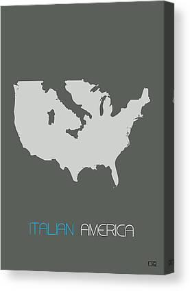 Italian Immigrants Canvas Prints
