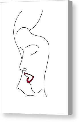 Simplicity Drawings Canvas Prints