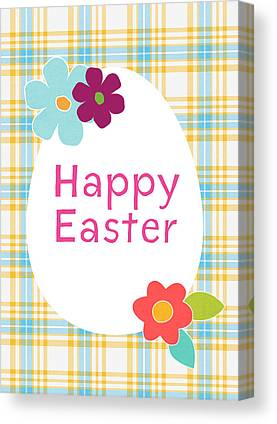 Easter Eggs Canvas Prints