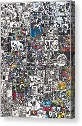 Medusa Canvas Prints