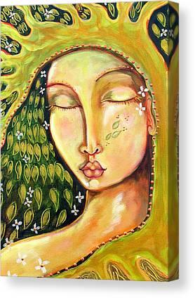 Designs On Face Canvas Prints