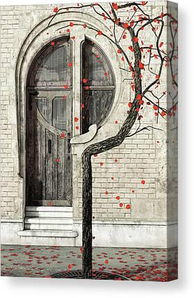Door Digital Art Canvas Prints