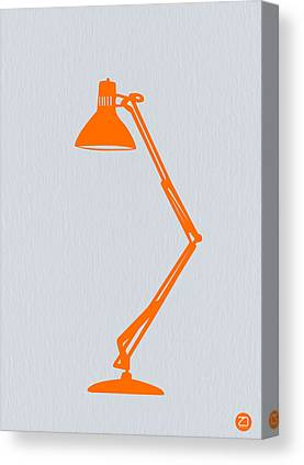 Table Lamp Canvas Prints