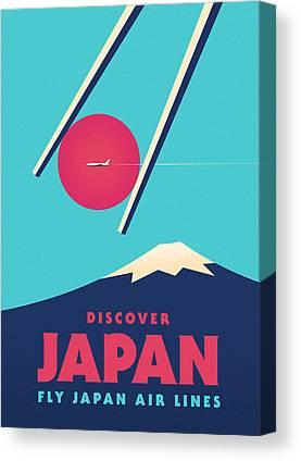 Japan Canvas Prints