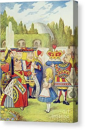Tenniel Canvas Prints