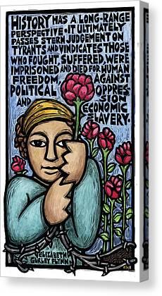 Oppression Mixed Media Canvas Prints