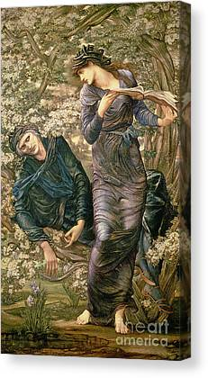 The Beguiling Of Merlin Canvas Prints