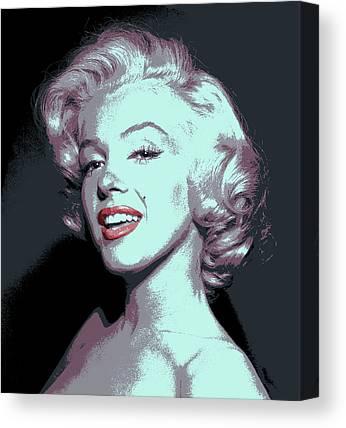Beauty Mark Digital Art Canvas Prints
