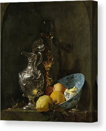 Still Life With Old Pitcher Canvas Prints