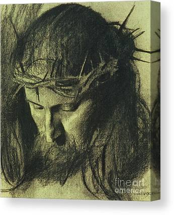 Religious Drawings Canvas Prints