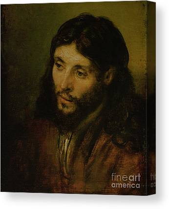 Head Of Christ Canvas Prints