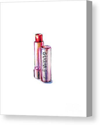 Lipsticks Canvas Prints