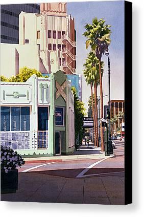Los Angeles Canvas Prints