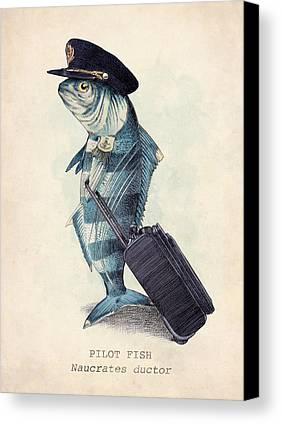 Fish Canvas Prints