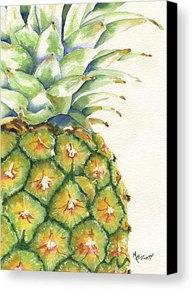 Pineapple Canvas Prints