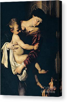 Mary And Jesus Canvas Prints