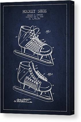 Skates Digital Art Canvas Prints