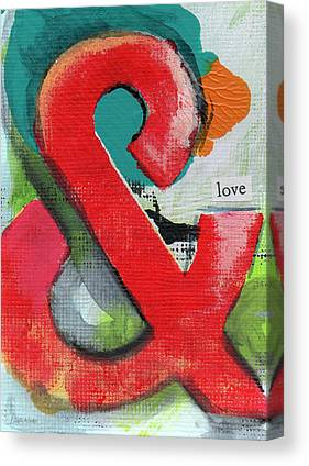 Letter Art Canvas Prints