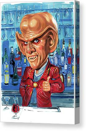 Armin Shimerman Canvas Prints