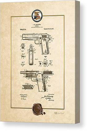 M1911a1 Canvas Prints