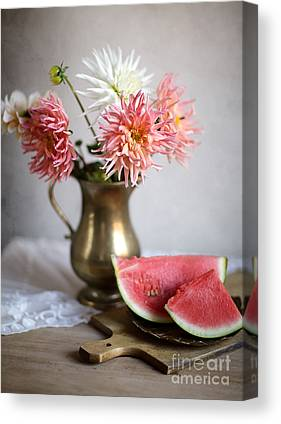 Watermelon Canvas Prints
