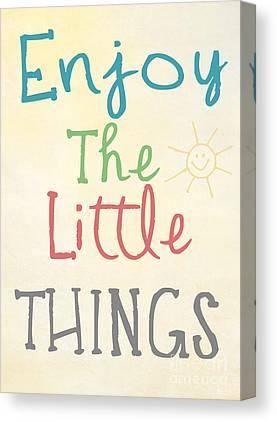 Little Things Photographs Canvas Prints