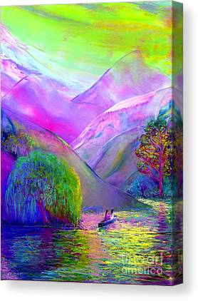 Canoeing Canvas Prints