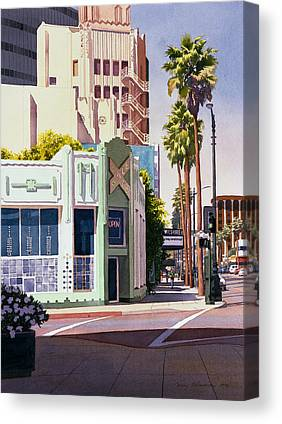 Beverly Hills Canvas Prints