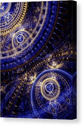 Machinery Digital Art Canvas Prints