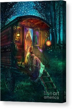 Firefly Canvas Prints