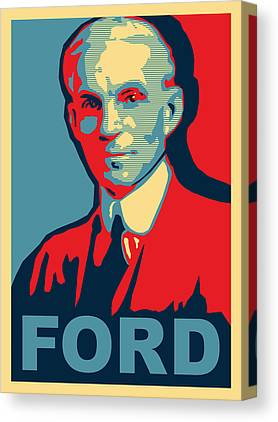 Ford Canvas Prints