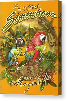 Margarita Canvas Prints