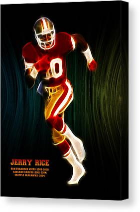 Jerry Rice Canvas Prints